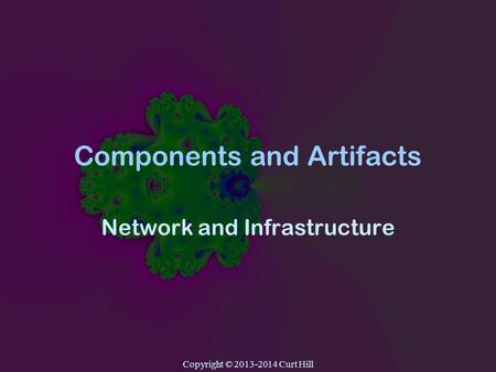 Copyright © 2013-2014 Curt Hill Components and Artifacts Network and Infrastructure.