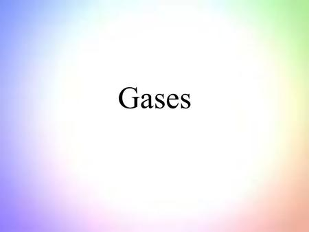 Gases. All elements that are gases at standard conditions are nonmetals All compounds that are gases at standard conditions are covalent compounds Gases.