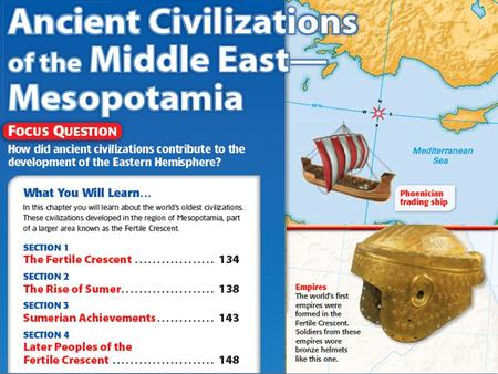Section 1: The Fertile Crescent