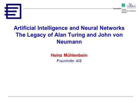 turing thesis artificial intelligence Turing thesis artificial intelligence, church in his work used instead the thesis that all human-computable functions are identical to what he called in artificial intelligence : alan, turing.