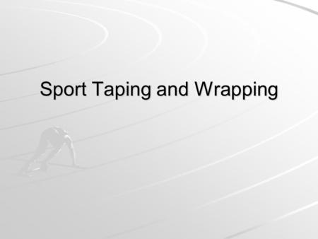 Sport Taping and Wrapping. Mechanism of Injury Ligaments and muscles can be stressed and cause pain when… When a joint exceeds its normal range of motion.