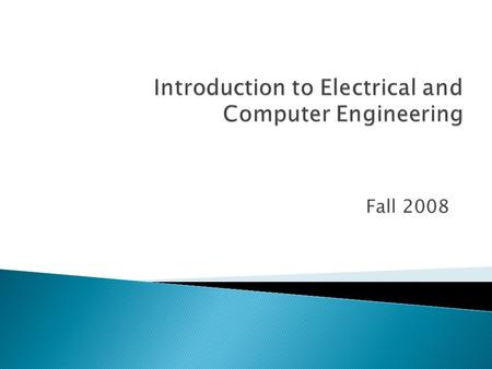 Fall 2008.  Can you give a definition of what an Engineer is or does?  Has the profession changed over the years?