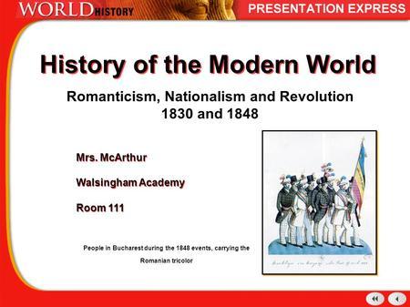 modern world nationalism