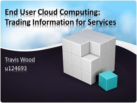 Agenda What is cloud computing? Google's Cloud Offerings Key Issue Data Aggregation Profiling Issues AOL User 927 Conclusion.