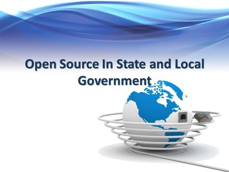 Open Source In State and Local Government. The Background LEADR: Law Enforcement Automated Data Replicator Large scale data collection and query tool.