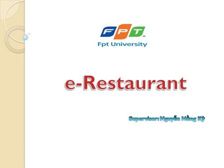 3TC Company www.3tc-restaurant.vn e-Restaurant lick to add Title 2 Contents Introduction add Title 1 Technique 3 Demo to add Title 4 Q & Add Title 5 Software.