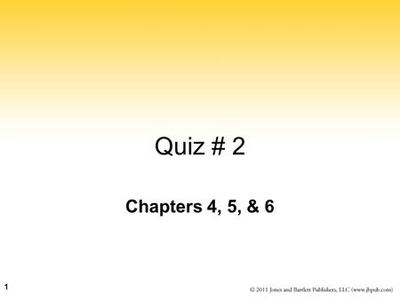 Chapters 4, 5, & 6 Quiz # 2 1. 2 Computers and Electricity Gate A device that performs a basic operation on electrical signals Circuits Gates combined.
