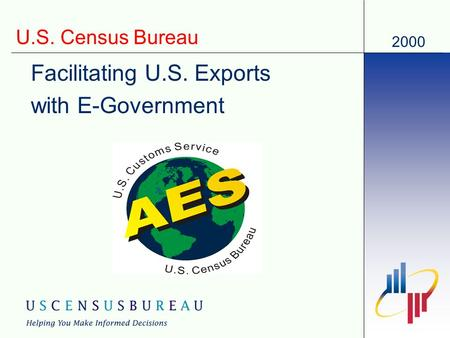 2000 U.S. Census Bureau Facilitating U.S. Exports with E-Government.