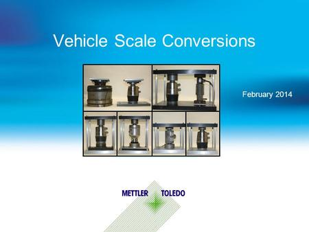 Vehicle Scale Conversions