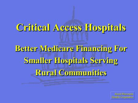 rural community action for better health Leaders are the life-blood of small towns and rural communities the success or failure of community development efforts often rests with the degree of leadership.