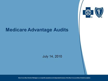 Medicare Advantage Audits