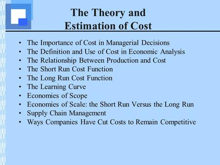 the importance of cost cutting to companies