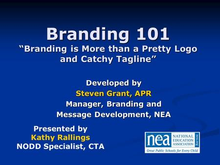 "Branding 101 ""Branding is More than a Pretty Logo and Catchy Tagline"""