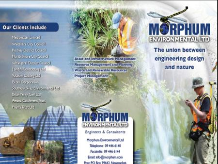 Morphum Environmental Ltd Environmental Engineers and Consultants www.morphum.com.