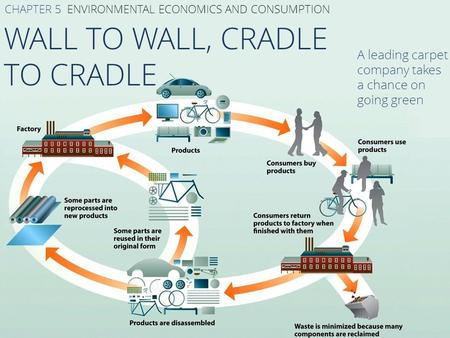 WALL TO WALL, CRADLE TO CRADLE CHAPTER 5 ENVIRONMENTAL ECONOMICS AND CONSUMPTION A leading carpet company takes a chance on going green.