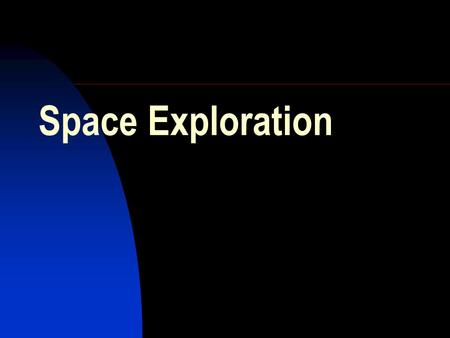 Space Exploration USA & SPACE I believe this nation should commit itself to achieving the goal, before this decade is out, of landing a man on.
