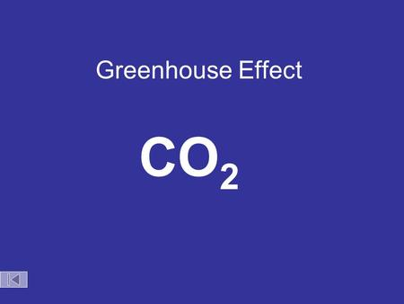 Greenhouse Effect CO 2 Earth as a Closed System.