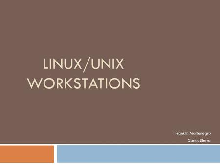 The Brief History Of Aix, HP-UX, Solaris, BSD, And LINUX