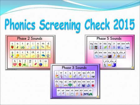 What is phonics? What is the phonics screening check? What will the check comprise of? Example words How will the check be administered? What happens.