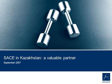 EMPOWER YOUR BUSINESS 1 SACE in Kazakhstan: a valuable partner September 2007.
