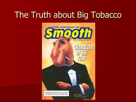 30 Fascinating Cigarette Smoking Facts