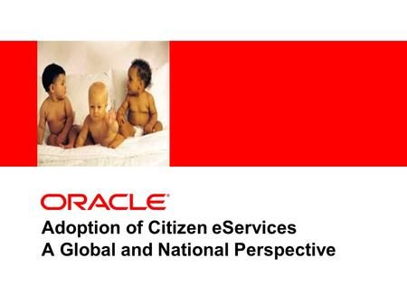 Adoption of Citizen eServices A Global and National Perspective.
