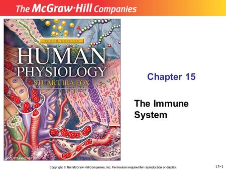 Chapter 15 The Immune System 15-1.