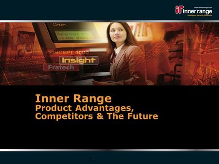 1 Sales Academy Training Inner Range Product Advantages, Competitors & The Future.