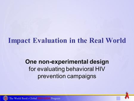 Evaluating polio and hiv aids treatment campaigns