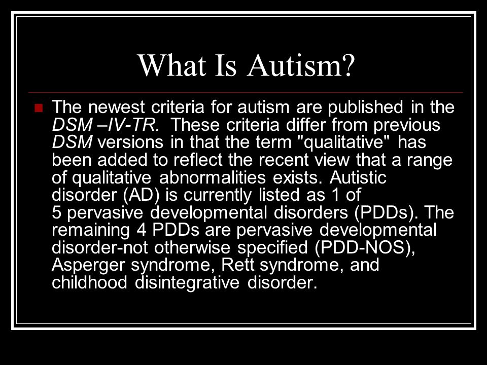 Autism and Asperger's: What's The Difference.