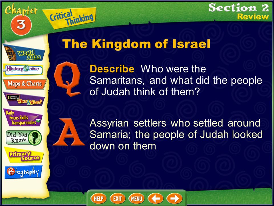 Describe Who were the Samaritans, and what did the people of Judah think of them.