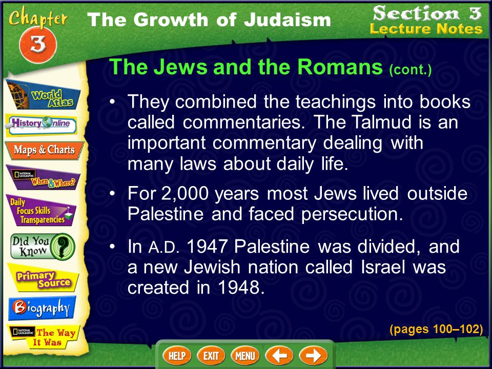 In A.D.1947 Palestine was divided, and a new Jewish nation called Israel was created in 1948.