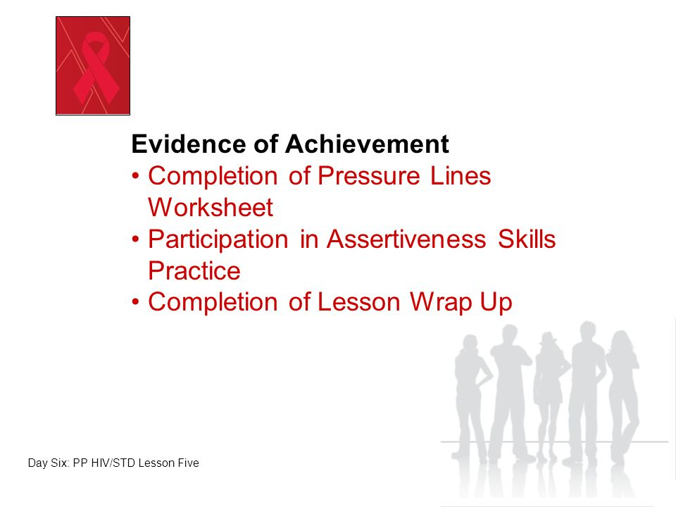 Media Analysis Skills Day Six: PP HIV/STD Lesson Five