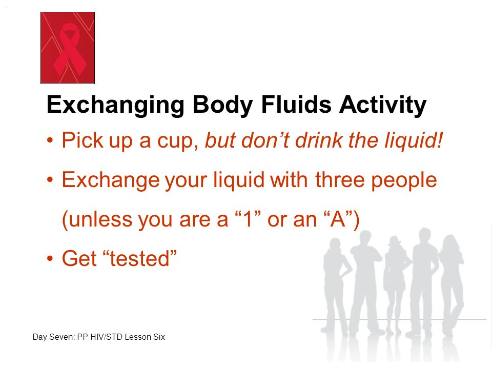 Exchanging Body Fluids Activity What happened to the 1s.