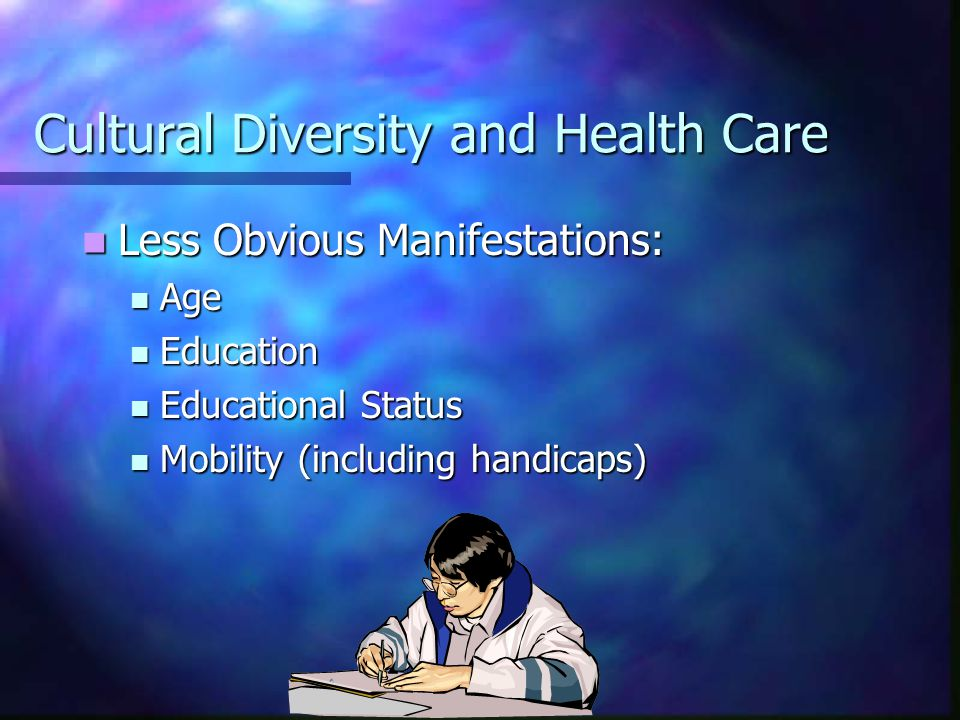 Cultural Diversity and Health Care What is Culture.