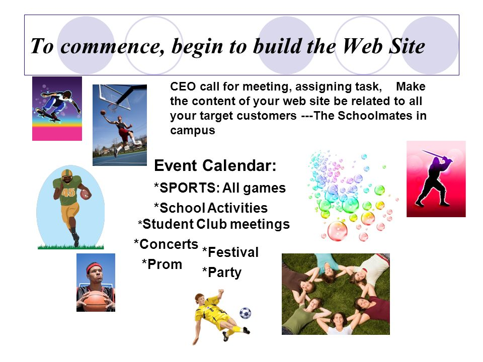 Add the Attraction Blog Forum Popular topic Good Ideas ---A Billboard as Community Center in Campus Accomplish the Web Site, Revise and keep it as fresh as Updated with current affairs.