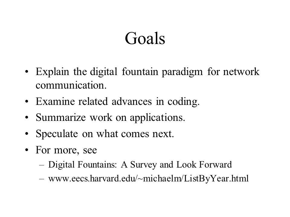 What is a Digital Fountain.