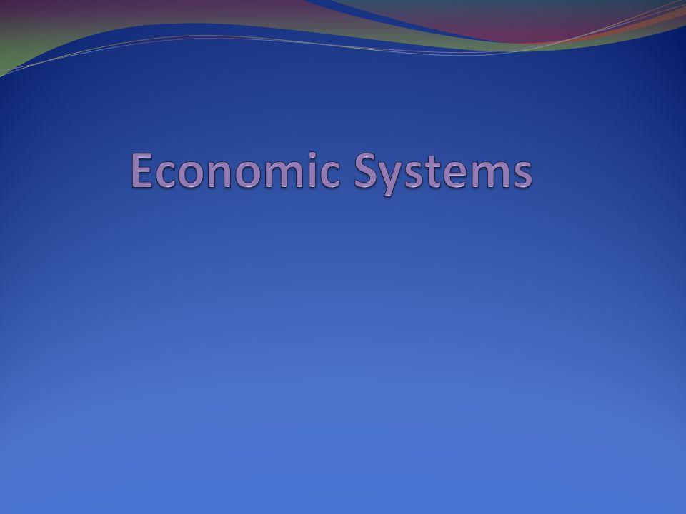 Economics the way people exchange goods and services.