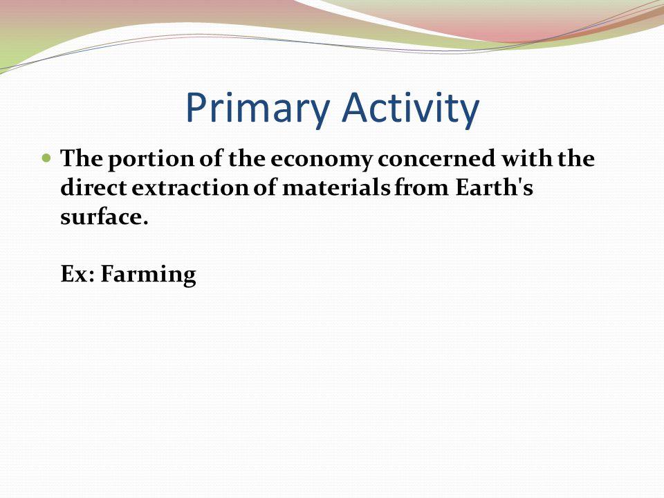 Primary Activity