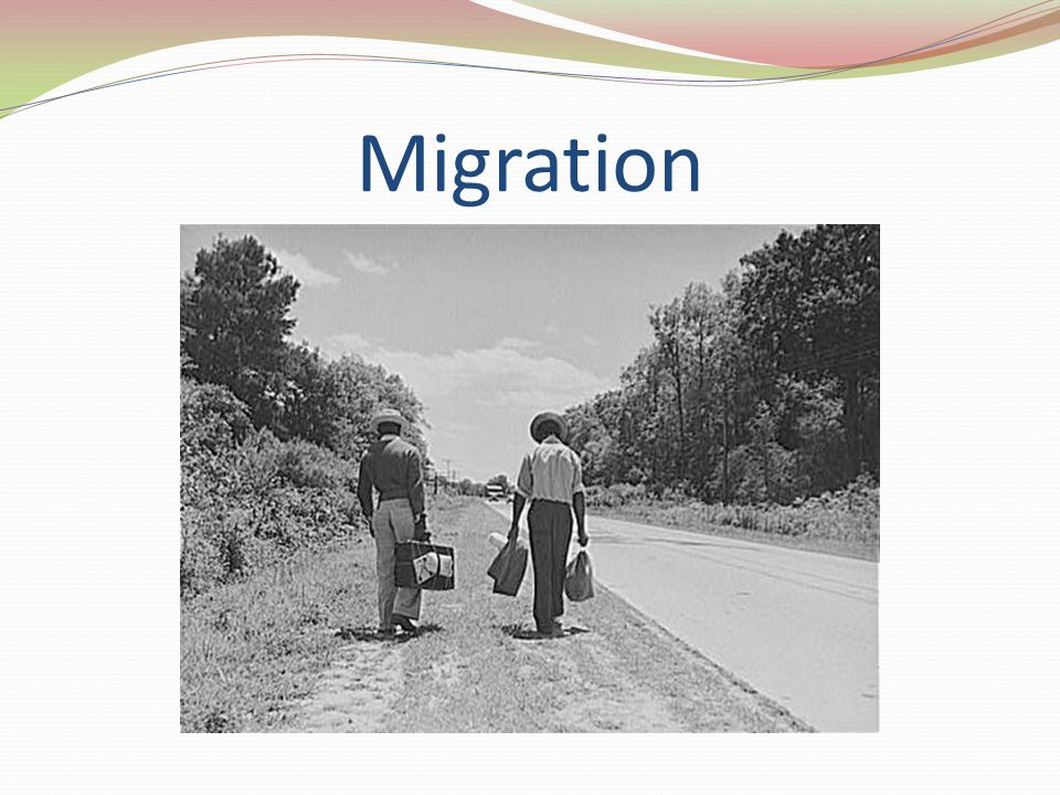 Immigration A permanent move of one's main place of residence.