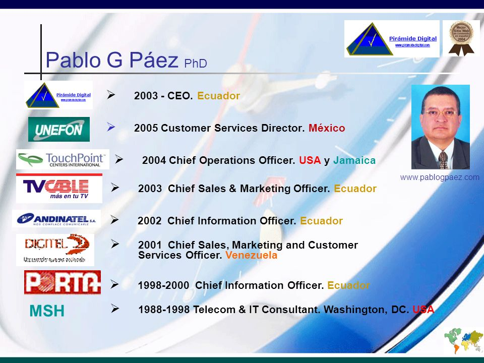 MBA.Technologies of Information & Communication MBA.
