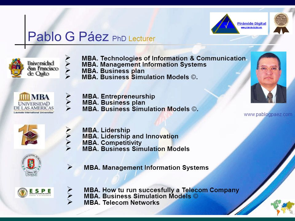 MBA.Electronic Entrepreneur Monterrey Nuevo León.
