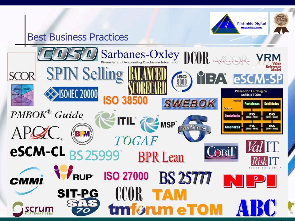 Pirámide Digital PRODUCTS & SERVICES Results Generating Actions Top Level Management Consulting Top Level Training Partnerships