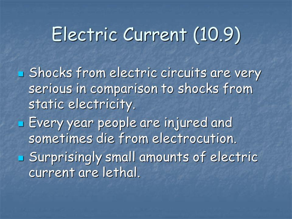 Remember, electric current is a measure of the rate at which electric charges move past a given point in a circuit.