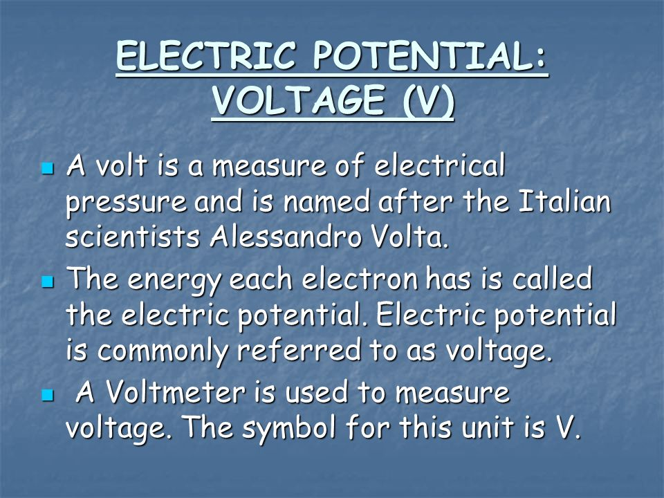 CURRENT (I) Electric current is the quantity of electricity going by a point in a circuit.