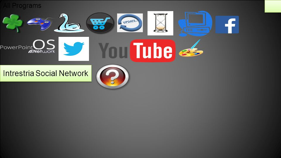 All Programs Intrestria Social Network