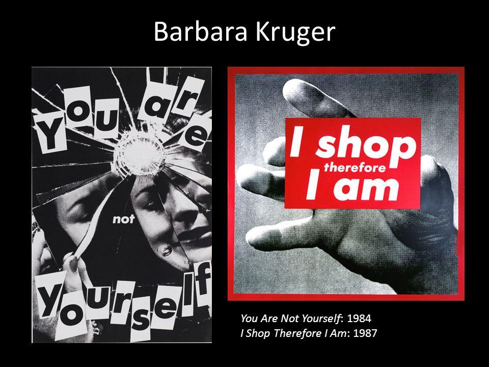 Barbara Kruger – Selfridges Campaign (2007)