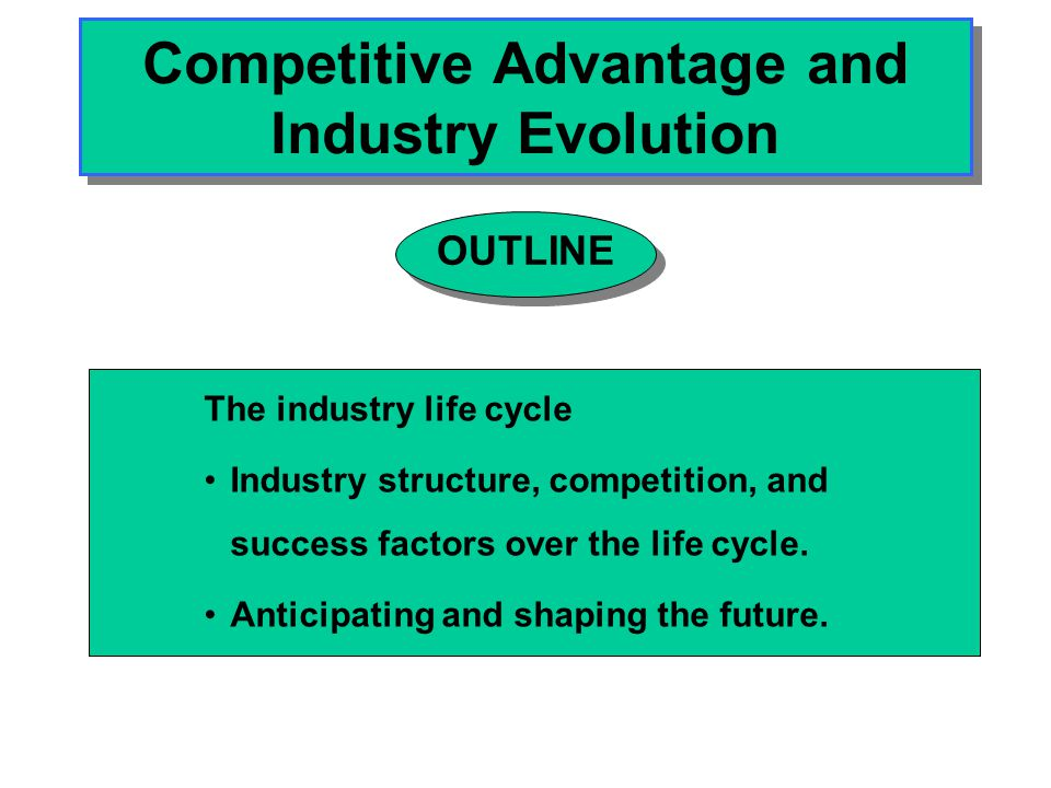 Building Blocks of a Dynamic Theory of Industry Structuring Industries are being restructured continuously.
