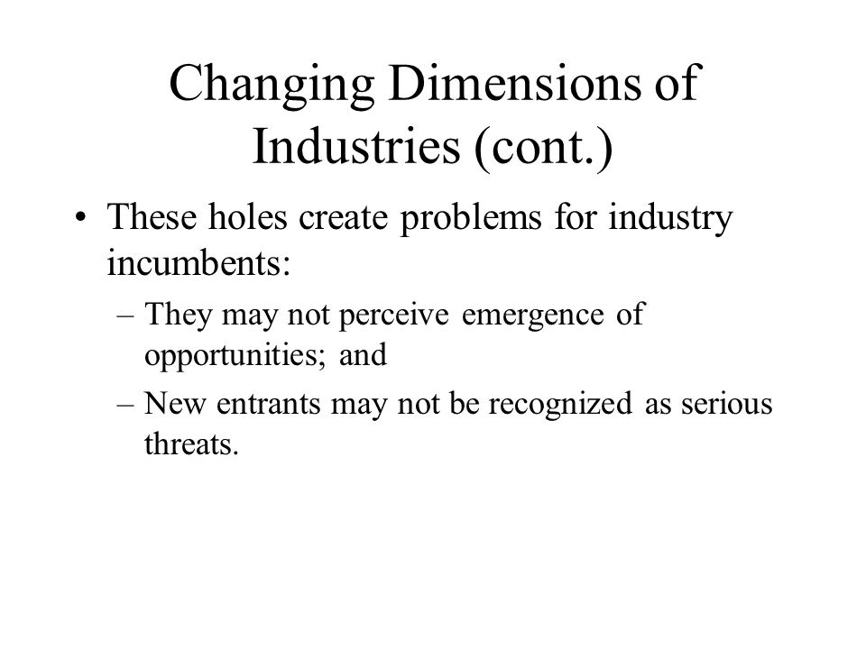 The Industry Life Cycle Drivers of industry evolution : demand growth creation and diffusion of knowledge Introduction GrowthMaturityDecline Industry Sales Time