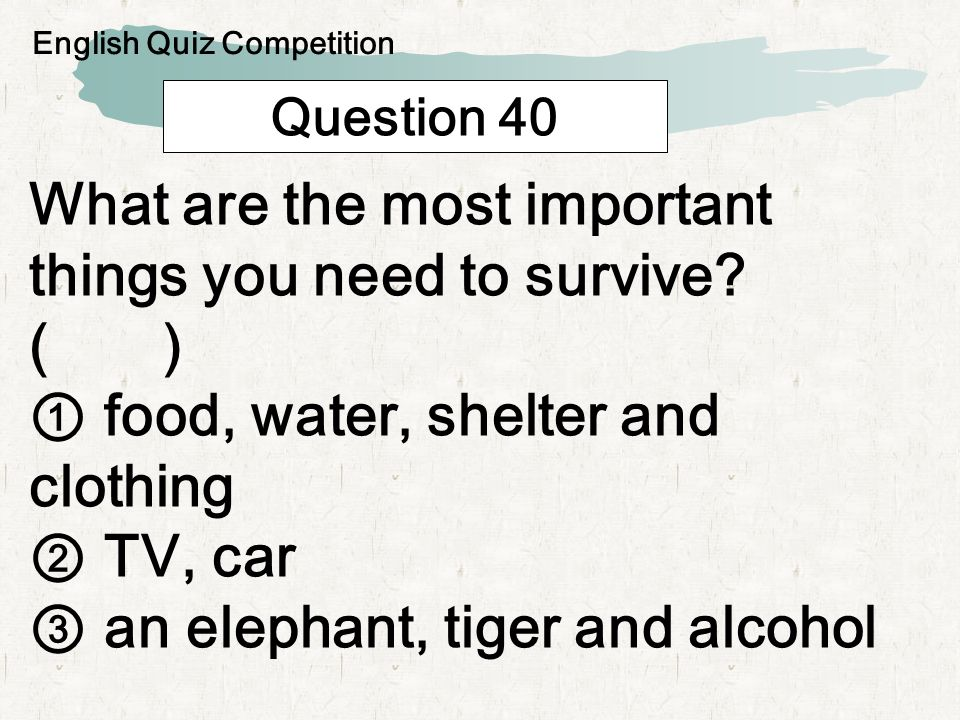 Question 41 I m a white man usually made by children outside the house on snowy day.